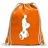 Kiwistar Chiffre d'entraînement Segway Sac de Jute imprimé Design Print