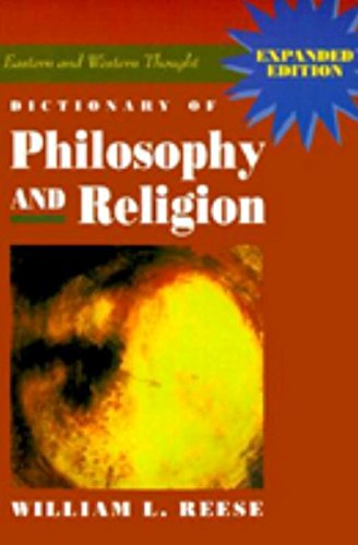 Dictionary of Philosophy and Religion (Philosophy of Religion)