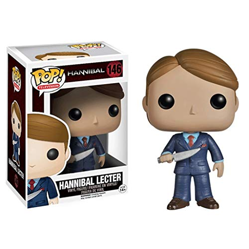 Funko Pop Television : Hannibal - Hannibal Lecter 3.75inch Vinyl Gift for Suspense Fans SuperCollection