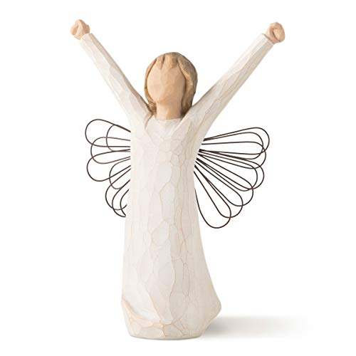 Willow Tree 26149 Figur Engel des Mutes, 3,8 x 3,8 x 15,2 cm