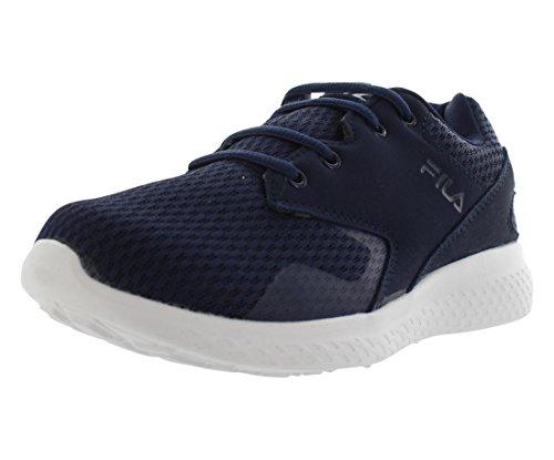 Fila Women's Layers Running Sneakers, Navy Mesh, EVA, 11 M