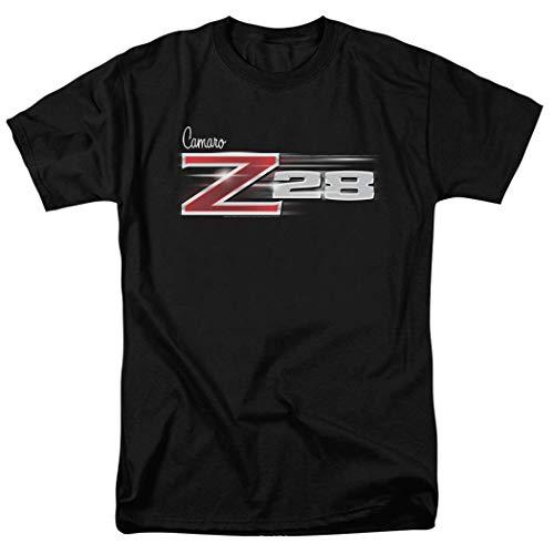 Z-28 Camaro Chevy Vintage Car Logo T Shirt & Stickers,Black (X-Large)