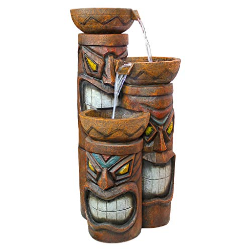 fun Tiki bowls water fountain for sale