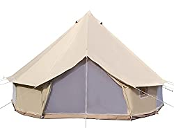 High End Luxurious Cotton Canvas Tent