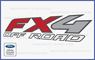 Decal Mods FX4 Offroad Decals Sticker for Ford Rangers - F (1997-2012)