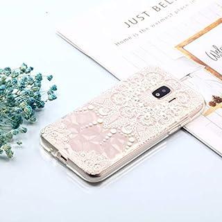 携帯電話アクセサリー Galaxy J2 Pro(2018)用ダイヤモンドテクスチャオイルエンボスTPUケース 電話用 (Color : Color3)