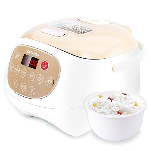 Tianji Digital Ceramic Rice Cooker FD30D with 3L Ceramic Inner Pot, Makes Rice, Porridge, Soup, Claypot rice, Multi-grain rice
