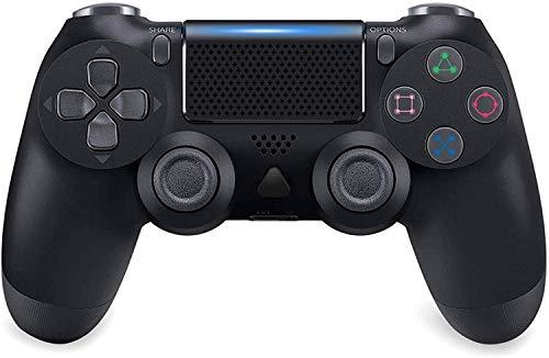 Controlador PS4 sem fio Bluetooth Gamepad para Sony Playstation 4 com cabo USB compatível com Windows PC e Android iOS 【Versão atualizada】