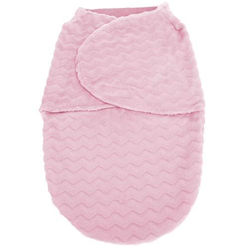 Saco de Dormir Baby Super Soft, Buba, Rosa, Tamanho Único