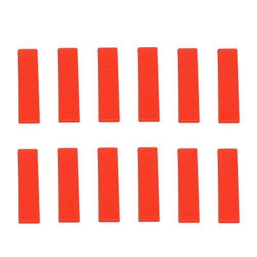 Golvavstånd, väggkilar, 100st Kilar Golvväggskakelnivåavståndsavstånd Planeringsverktyg