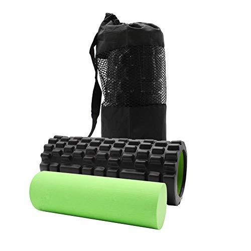 ValueHall 2 in 1 Faszienrolle Yogarolle Set zur Selbstmassage Faszien Rolle für Triggerpunkt-Massage V7057