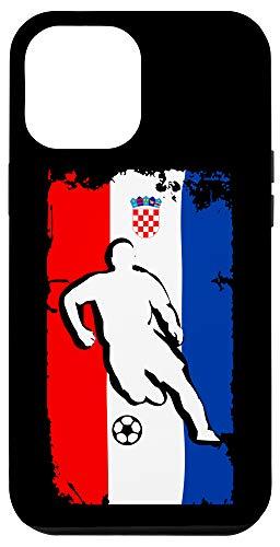 iPhone 12 Pro Max Croatia Soccer Jersey - Croatian Flag   Football Futbol Case