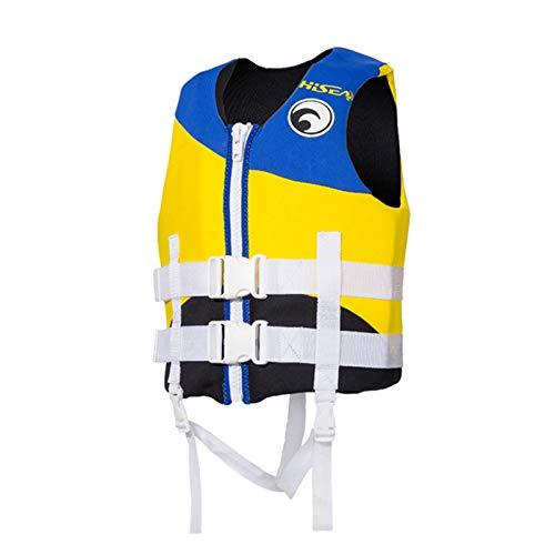 Q-YR Chaleco Salvavidas Flotabilidad Infantil, Chalecos De Natación Asistidos por El Agua, Chalecos Salvavidas para Niños Y Niñas para Juegos De Playa, Rafting, Navegación,C,S