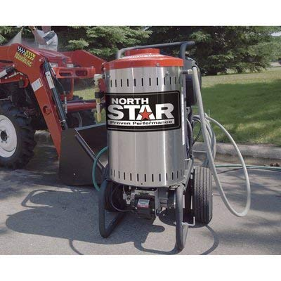 Northstar Electric Wet Steam and Hot Water Portable Pressure Power Washer - 2750 PSI, 2.5 GPM, 230 Volt, Model Number 157308