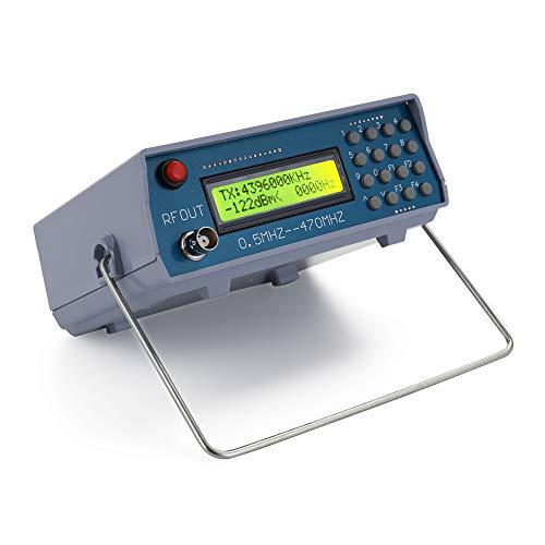 Gecheer Generador de Señal Medidor Probador de RF de 0.5MHz-470MHz para Radio FM Walkie-Talkie Depuración Salida Digital CTCSS Singal