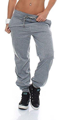 malito dames Joggingbroek in Classic Look |Sportbroek in effen kleuren | Baggy om te dansen | Sweatpants - Trainingsbroek H1206