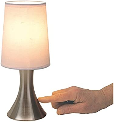 Lot de 2 lampes de table tactile à variation de chevet max