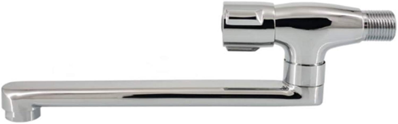 STURDYE Sink Mixer Tap Faucet Copper Into The Wall Kitchen Mop Pool redate Single Cold 18 cm