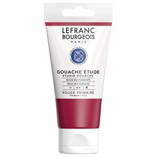 Lefranc Bourgeois Gouache Etude Tube 80 ml Rouge 301244