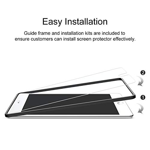OMOTON [3 Pack] Screen Protector for iPad Mini 5 (2019) iPad Mini 4 - Tempered Glass, Apple Pencil Compatible, Scratch Resistant Photo #2