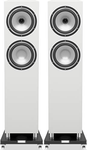 Tannoy Revolution XT 8F - Altoparlanti da pavimento, colore: Bianco lucido