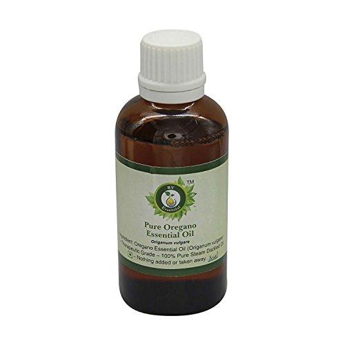 R V Essential Reines Oregano Ätherische Öl 30ml (1.01 Unzen) - Origanum vulgare (100% reiner und natürlicher Dampf destilliert) Pure Oregano Essential Oil