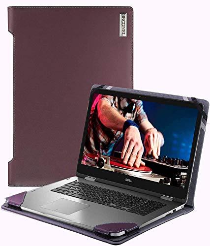 Navitech Broonel London – Profile Series –Lila Premium Leder Hülle/Cover Trage Tasche/speziell für das Acer Aspire E Series E5-553 / Acer Aspire E Series E5-523 / Acer Extensa 15