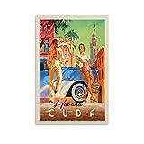 SHXI Vintage-Reise-Poster, Kuba Havanna, Poster,