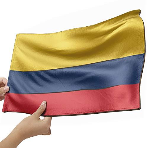 Kolumbien Flagge als Lampe aus Holz - schenke deine individuelle Kolumbien Fahne - kreativer Dekoartikel aus Echtholz