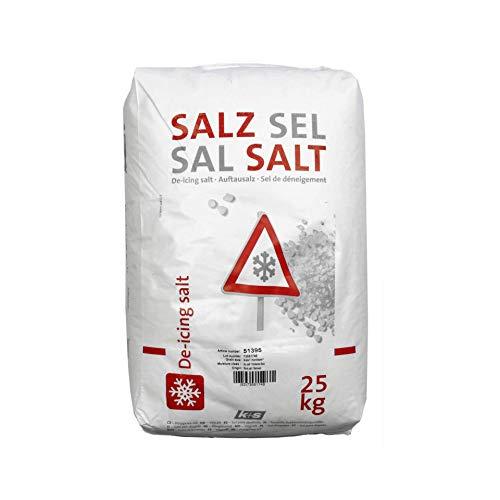 Auftausalz ohne Split weiß 25 kg
