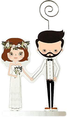 DISOK - Pinza Portafotos madera WEDDING. Porta notas de boda originales para entregar como detalles para las bodas.