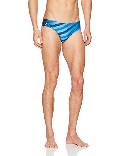 Joma Shark Wettkampf-Badeanzug, Herren M blau