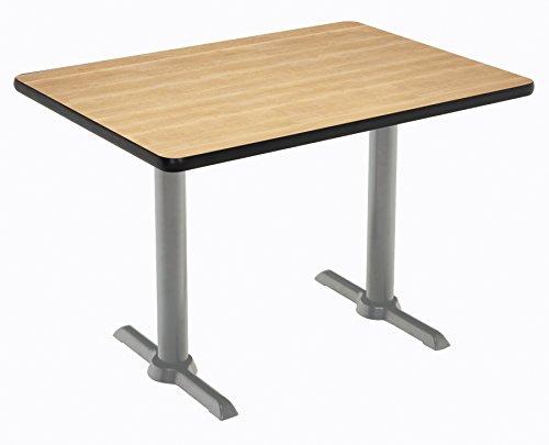 """KFI Seating Mode Multipurpose Table, 30"""" x 60"""" Top, Natural -  KFI Studios, T3060-B2065-SL-NA"""