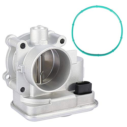 X AUTOHAUX Electronic Throttle Body Assembly with TPS Pre-assembled for Chrysler for Dodge Avenger Caliber Journey for Jeep 04891735AC 4891735AD 977-025