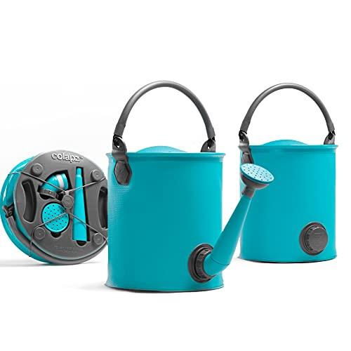 Colapz faltbarer Gießkanne und Eimer für den Wohnwagen - Blau