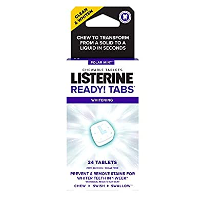 Listerine Ready! Tabs Whitening