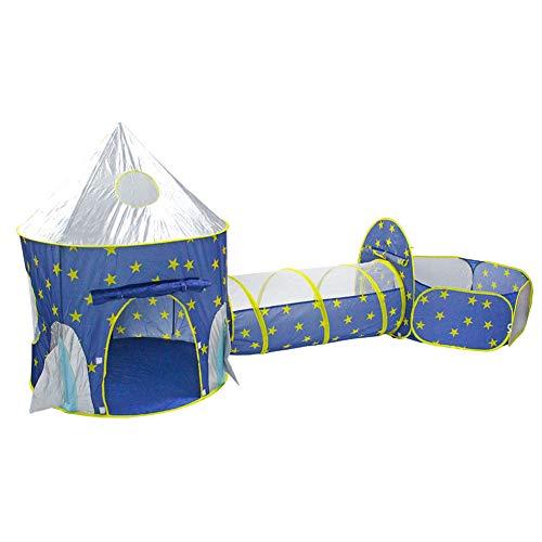 Greensen Pop Up Playhouse Ball Pit Tienda plegable Baby Play Toddlers Crawl Túnel Ball Pool con bolsa de transporte para niños, niñas y niños, uso interior y exterior (bolas no incluidas)