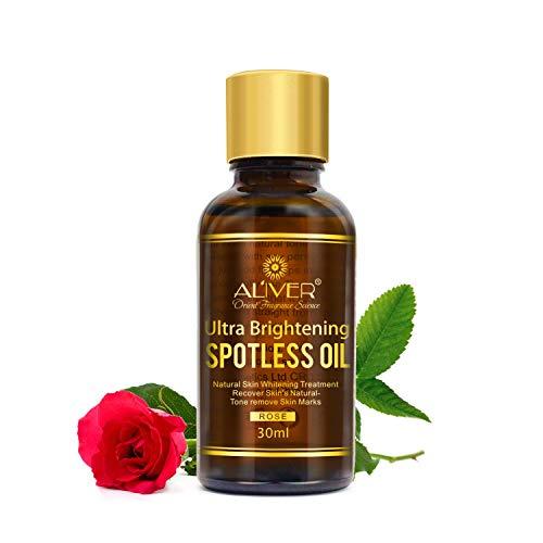Aceite Esencial de Rosa Protección de Piel,IFUDOIT 100% Aceite de Rosa natural, Aclara las Arrugas Antienvejecimiento, Perfecto Para Aromaterapia, Masaje Corporal, Relajación