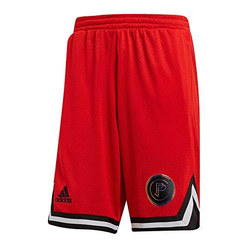 adidas Paul Pogba - Pantalones cortos reversibles, color negro