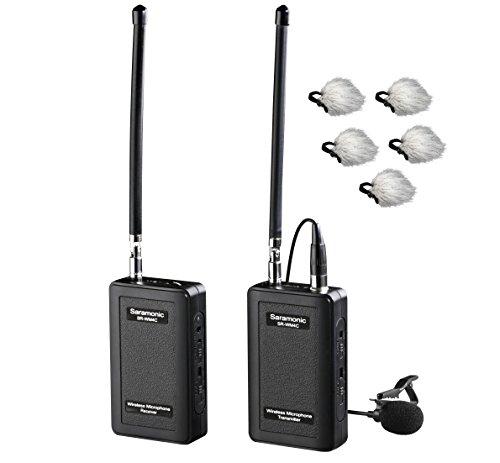 Saramonic SR-WM4C 4-Channels VHF Lapel Mic System