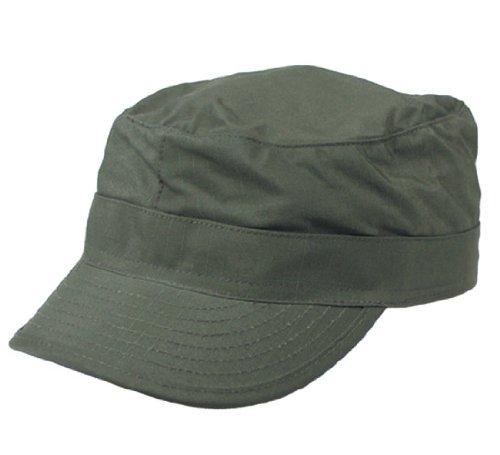 US BDU Champ Bonnet, Ripstop, avec étiquette renforcé, 100% Coton – Olive M Olive