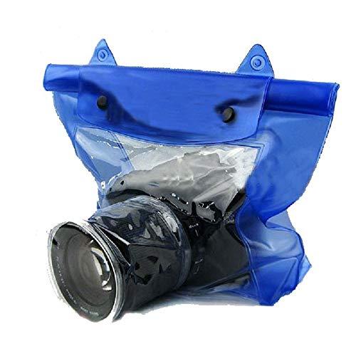 Vlook Borsa Impermeabile per Fotocamera Reflex DSLR 3Pcs, Custodia Subacquea Custodia, con Striscia di Tenuta, Portatile e Facile da Usare, per la Maggior Parte degli Stili di Fotocamere