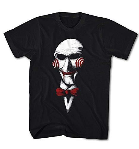 Herren T-Shirt Jigsaw Kino Movie Saw Spiel