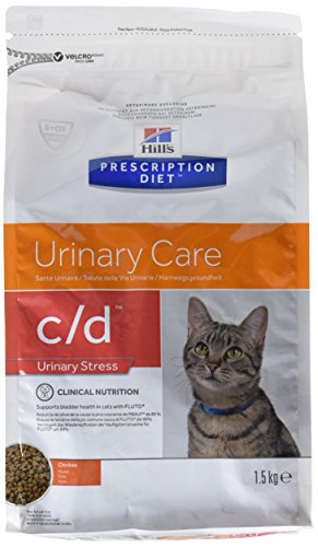 Prescription Diet c/d Feline Urinary Stress mangime Secco Gusto Pollo kg. 1,5