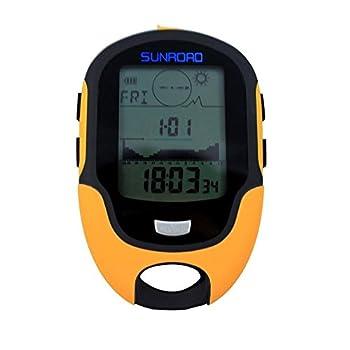 Home Care Wholesale Multifonction Altimètre Baromètre Boussole Numérique pour Sports en Extérieur (Sunroad Modèle FR-500)