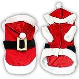 Smoro - Cappotto natalizio per cani Chihuahua, invernale, per Natale, per animali domestici, caldo e gatto