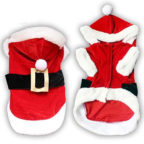 Smoro, Vestito natalizio per cani Chihuahua, invernale, per Natale, per animali domestici e gatti