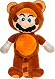 Whitehouse Leisure International Ltd. Super Mario Bros - Peluche Mario Bros Tanooki 32cm / 12'60'' Calidad Super Soft