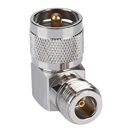 Eboxer Vaste verbinding 50Ω UHF-hoek-krimp 1000-voudige levensduur UHF-hoekstekker