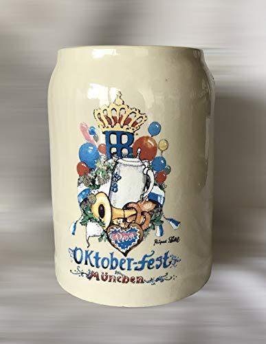 Vaso HB de 0,5 litro / cerveza Oktoberfest / jarra de cerveza / jarra de cerveza / edición especial / cristal / cerveza / gastronomía / bar / coleccionista / colección / decoración